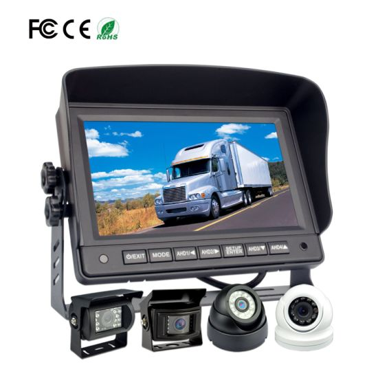 7-Inch Ahd 720p Bus/Truck Heavy Duty Rearview Camera pictures & photos