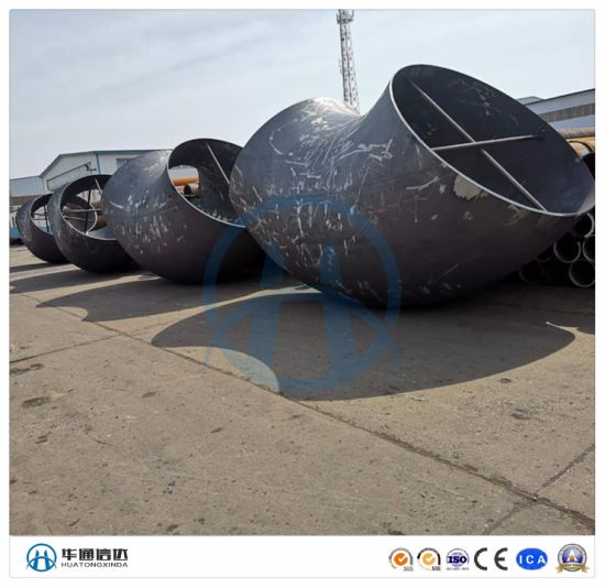 Butt Weld Carbon Steel Pipe Fitting 90 Degree Sch40 Elbow