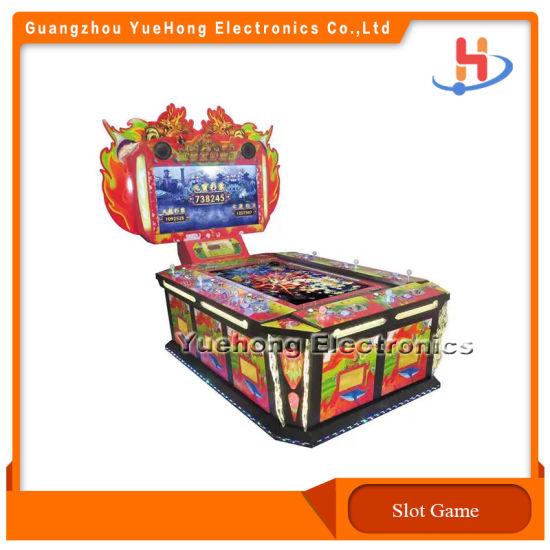 China Popular Casino Fishing Game Hardware Cabinet HD Screen