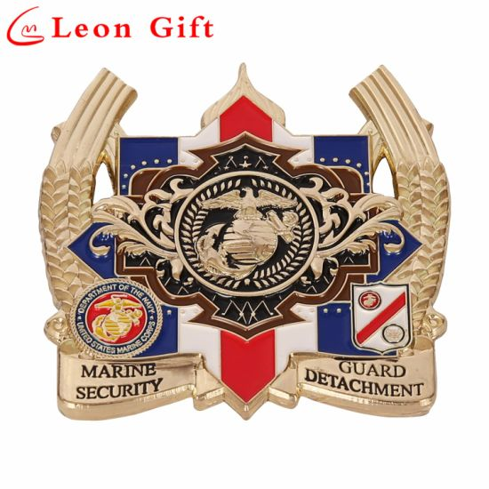 Factory Quality Custom 3D Crafts Hard Enamel Lions Lapel Pin