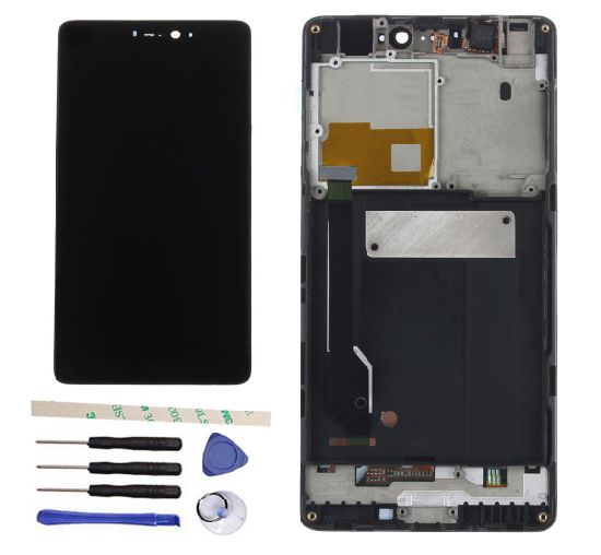 Sinbeda 100% Tested 5.0′′ LCD Screen for Xiaomi Mi 4c Mi4c LCD Touch Screen Digitizer Assembly +Frame for Xiaomi 4c Mi 4c Black pictures & photos