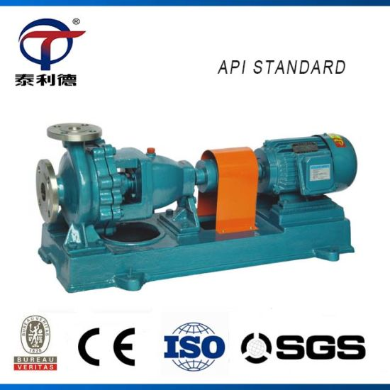 China Petrochemical Waste Water Anti-Corrosion Seawater Pump