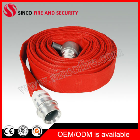 Fire Fighting Hose with John. Morris BS Fire Hose Coupling