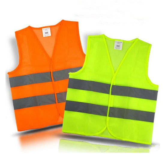 Railway Workwear Safety Reflective Jacket Safety Vest Clothes for Adults