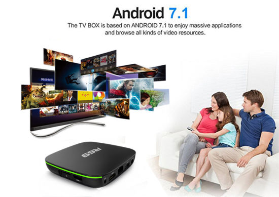 Root Access Android Smart Stream TV Box R69 Allwinner H3 1g 8g Android TV  Box Media Player HD