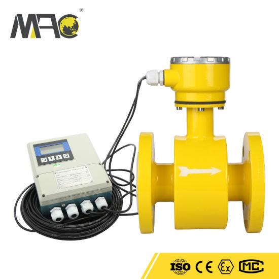 OEM Flow Meter Sewage Split Electromagnetic Flowmeter