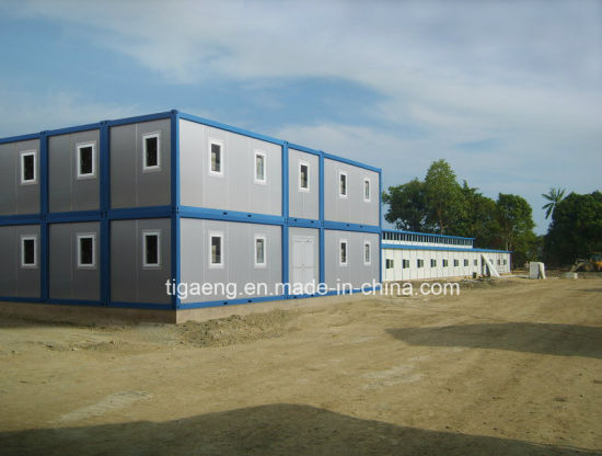 Prefabricated Small House for Camp/Labor House in Kuwait pictures & photos