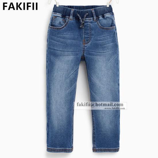 OEM/ ODM Wholesale Fashion Kid Apparel Denim Child Boys Jeans Pant