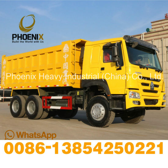371HP Excellent Condition Used HOWO Dump Truck 6X4 Tipper Truck for African Market