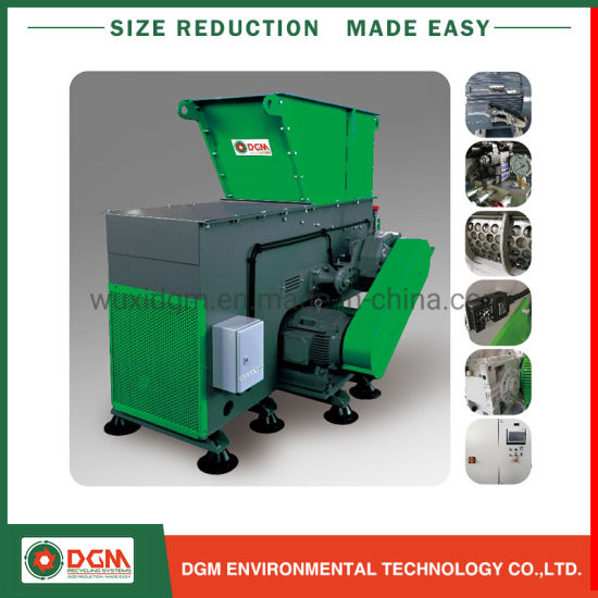 Dga Plastic Recycling Compact Shredder Machine with Ce Certification