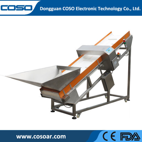 Industrial Metal Detector for Wooden/Plastic Recycle Factory