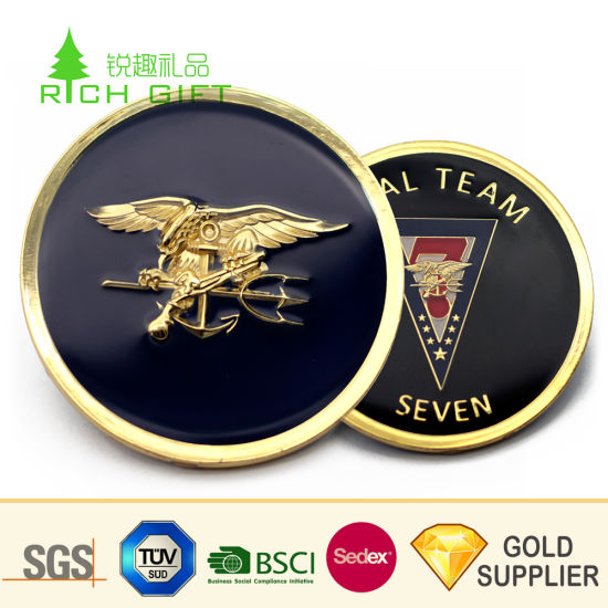 China Wholesale Cheap Custom Metal Coin Challenge Coin Bulk