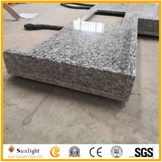 Customize Cheap White Wave Granite Lowes Kitchen Countertops for Home