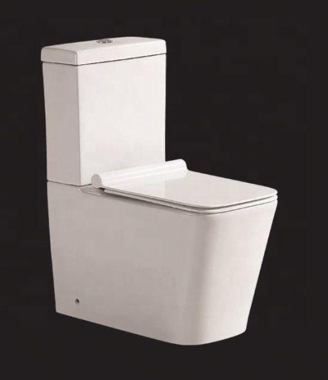 Two Parts Toilet Ceramic Hotel Water Closet