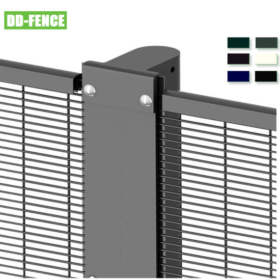 New Design Powder Coated 358 Security Fencing for Airport Border Gas Refine Treatment Plant Factory Railway Application