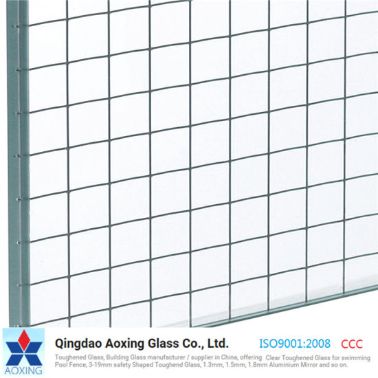 China ISO9001 Safety Wire Mesh Security Fire Rated Glass - China ...