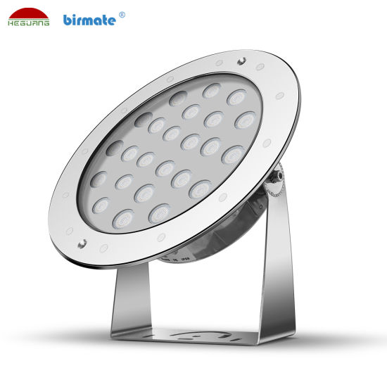 DC24V 36W SS316L Stainless Steel IP68 LED Underwater Swimming Pool Light