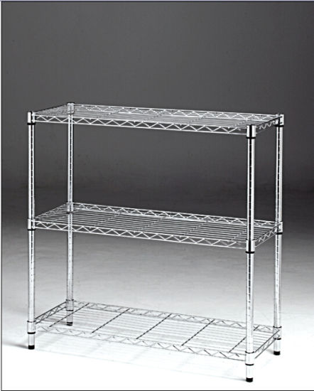 Hot Selling Steel Display Wire Shelving pictures & photos