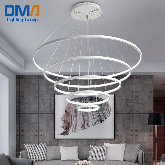 Energy Saving 5 Chandeliers Art Project Hanging LED Designer Modern Pendant Light Lamp