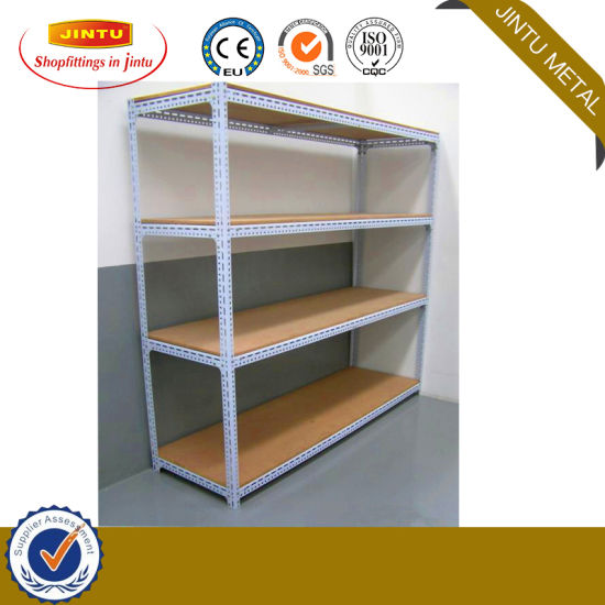 Boltless Rivet Metal Shelving Rack for Warehouse and Super Market Storage