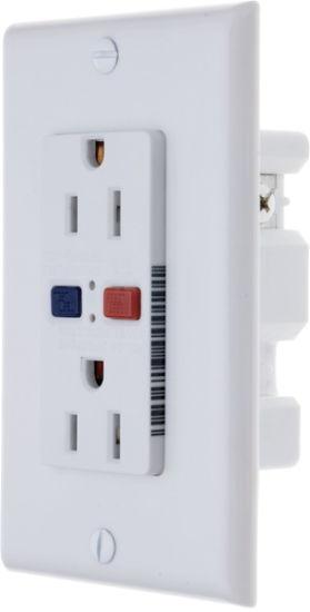 ETL Listing 15 AMP, 125 Volt GFCI Socket