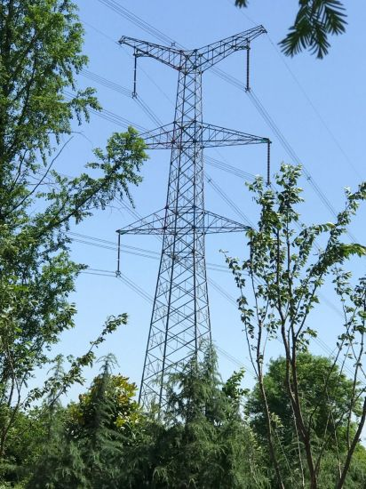 Angle Steel Power Transmission Line Tower