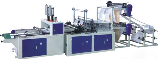 Full Automatic T-Shirt Bag Making Machine (Double-layer Four-lines)