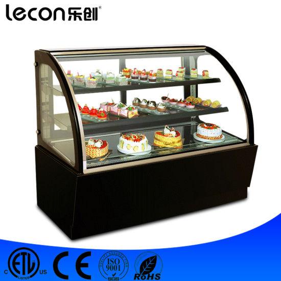 China Full Glass Window Furved Glass Display Freezer China