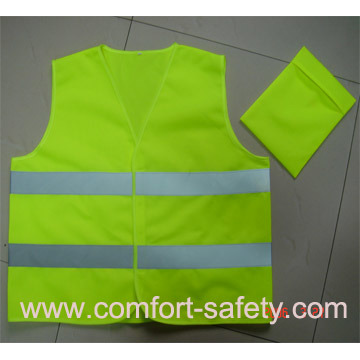 Mesh Reflective Material Roadway Safety Vest
