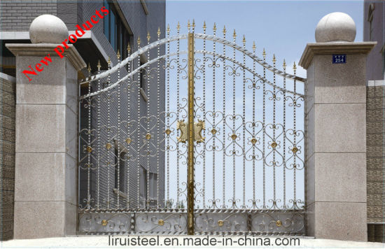Structure Solid Stainless Steel Pipe for Entrance Door in Chinese Style pictures & photos