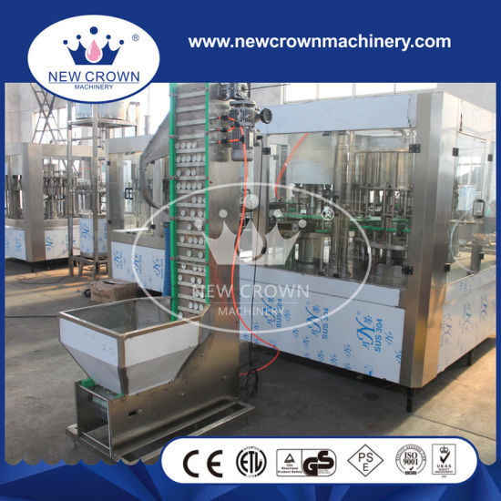 China High Quality Fruit Juice Filling Machine for Glass Bottle with Twist off Cap pictures & photos