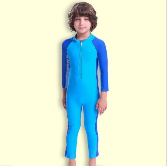 4537f2256a Kids Lycra Swimsuit Surfing Suit Long Sleeve Wetsuit and Swimwear