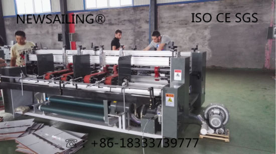 Automatic High Speed Folding Gluing for Special Carton Box Machine