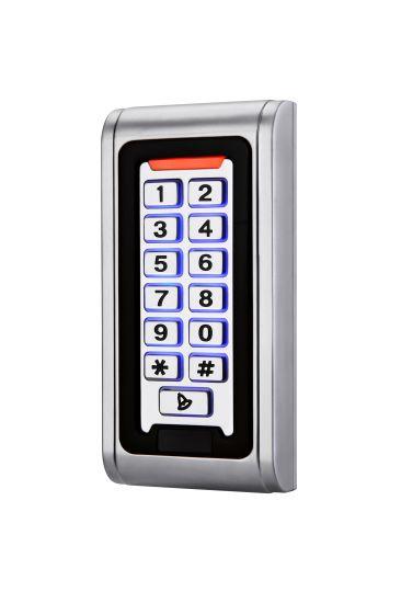 RFID Metal Access Control Keypad Waterproof Cover Contactless Door Controller