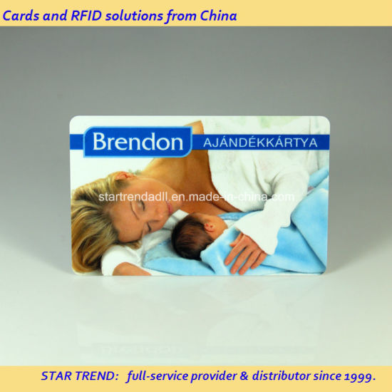 Code 39 PVC Card with Unique Barcode for Promotion