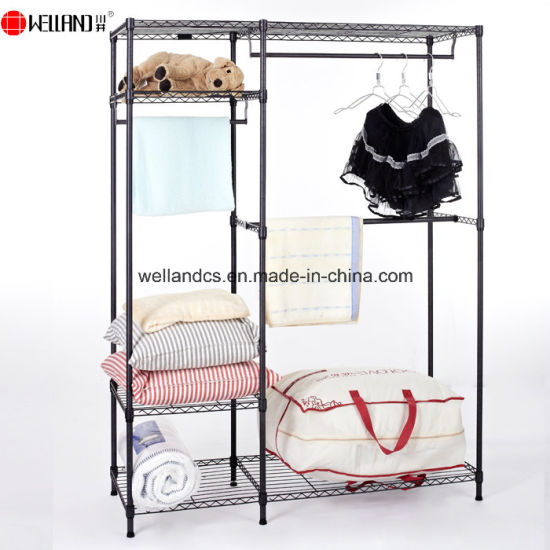 Modern Home Furniture Steel or Iron Cloth Wardrobe Design pictures & photos