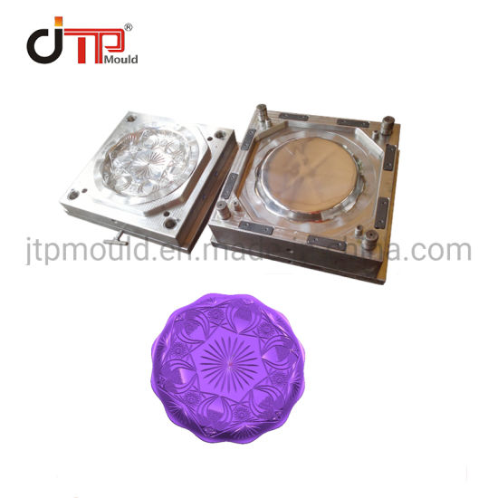 Huangyan Direct Factory Good Quality Glossy Polishment Plastic Injection Fruit/Soup Plate Mould Making