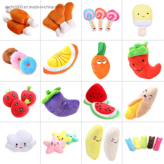 Dog Pet Factory Wholesale Small Plush Stuffed Dog Toy pictures & photos