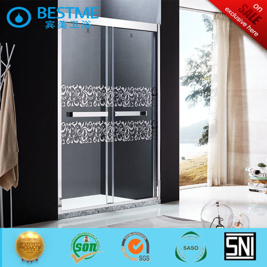 Classical 304 Stainless Steel Sliding Shower Door (BL-B0011-P) pictures & photos