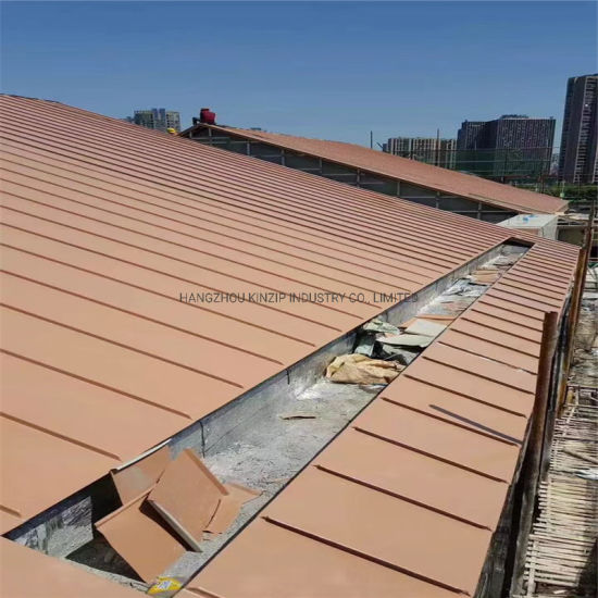 China High Grade Building Used Titanium Zinc Standing Seam Metal Roof Panels China Aluminum Roofing Standing Seam Roofing