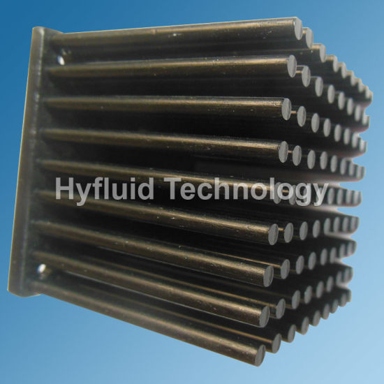 Cold Forged Sparsely Configured Aluminum Pin Fin Heat Sinks pictures & photos