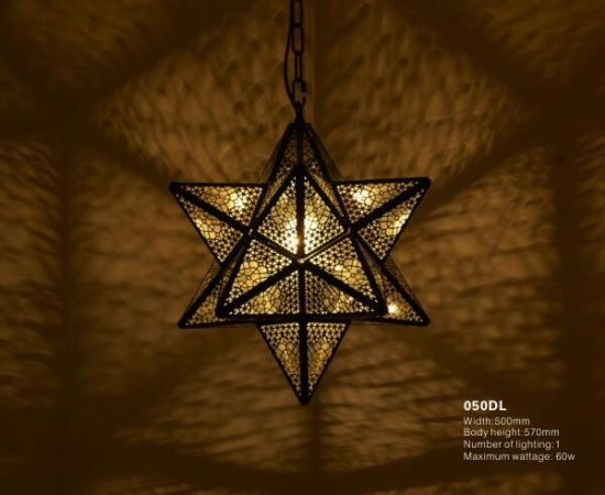 Moroccan Church Decor Brass Pendant Lights (KA050DS) pictures & photos