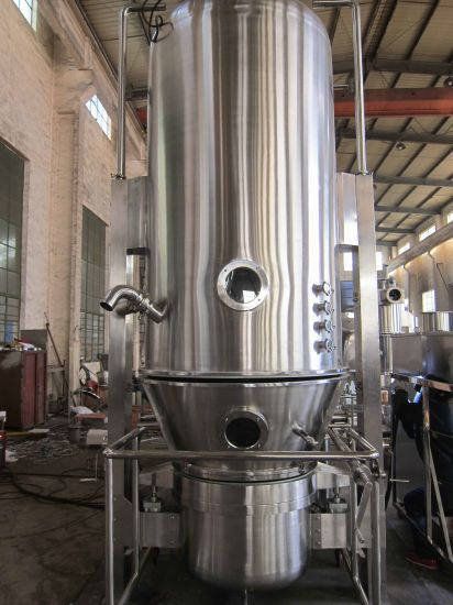 Pharmaceutical Vertical Fluid Bed Dryer with Drying Equipment