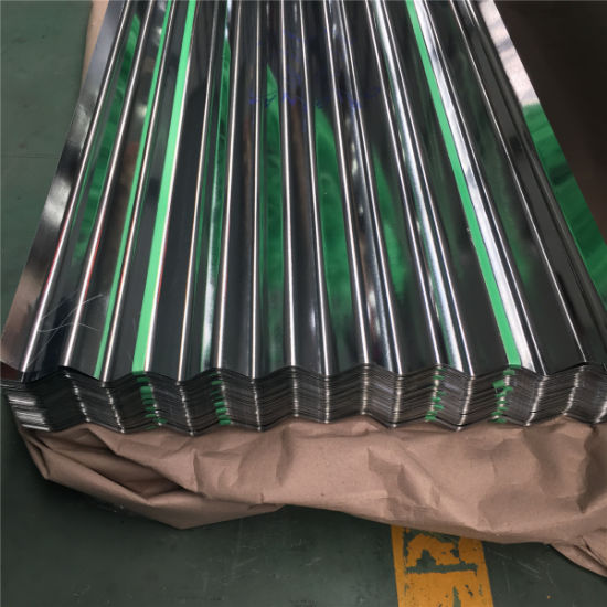 Galvanized Steel Metal Roofing Corrugated Sheet for Building