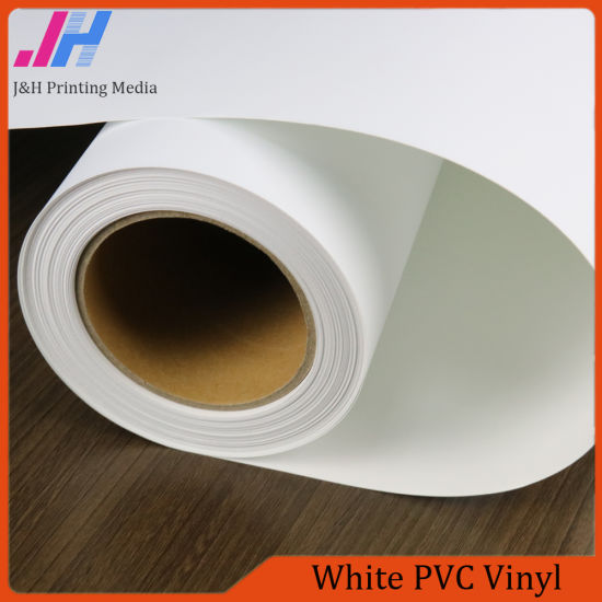 Dye Ink Printing Glossy White PVC Vinyl & China Dye Ink Printing Glossy White PVC Vinyl - China White PVC ...