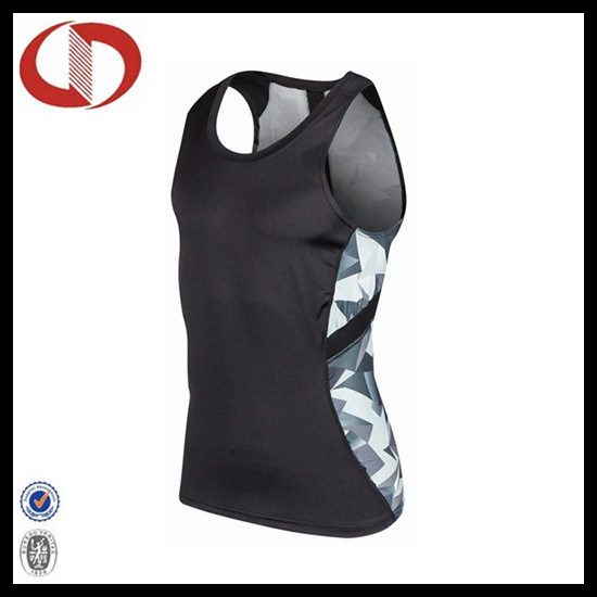 Custom Made Dry Fit Printed Sports Clothes Running Vest pictures & photos