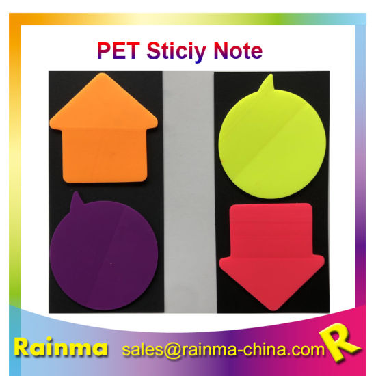 Special-Shaped Pet Sticky Note for Office Stationery Use pictures & photos