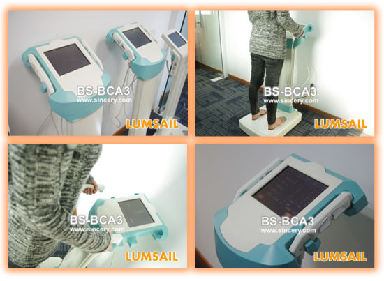 3D Body Scanner Nutrition Test Machine Quantum Body Scanner