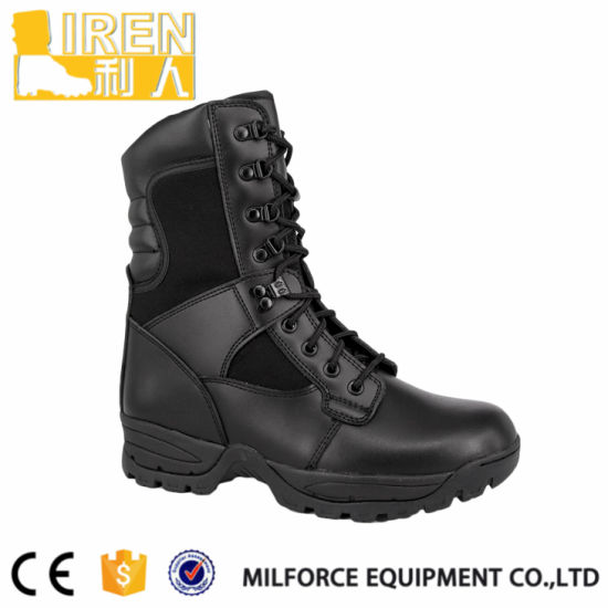 Women Army Boots Leather Women Military Boots pictures & photos