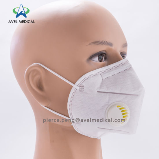 Masks Pollution Air Valved Folded Dust Iso